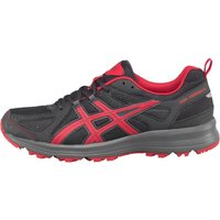 Asics Mens Trail Tambora 5 Trail Running Shoes Black/Vermillion/Black