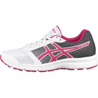 Asics Womens Patriot 8 Neutral Running Shoes White/Sport Pink/Silver