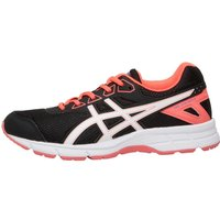 Asics Junior Gel Galaxy 9 Neutral Running Shoes Onyx/White/Diva Pink