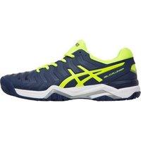 asics-mens-gel-challenger-11-tennis-shoes-indigo-bluesafety-yellowsilver