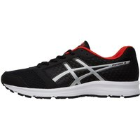 Asics Mens Patriot 8 Neutral Running Shoes Black/Lightning/Vermillion