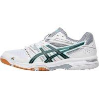 Asics Womens Gel Rocket 7 Indoor Court Shoes White/Black/Cockatoo