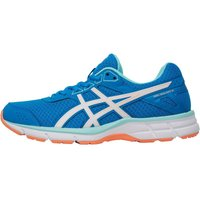 Asics Womens Gel Galaxy 9 Neutral Running Shoes Diva Blue/White/Flash Coral