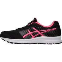 Asics Womens Patriot 8 Neutral Running Shoes Black/Hot Pink/White