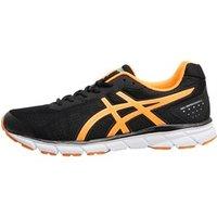 Asics Mens Gel Impression 9 Neutral Running Shoes Black/Shocking Orange/Silver