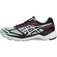Asics Womens Gel Foundation 12 Stability Running Shoes Black/Soothing Sea/Phlox