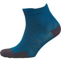 Asics Motion Lightweight Running Quarter Socks Thunder Blue