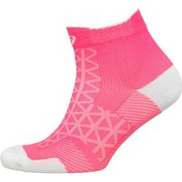 Asics Motion Lightweight Running Quarter Socks Diva Pink/Mid Grey