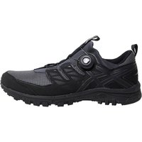 Asics Mens Gel Fujirado Trail Running Shoes Dark Grey/Black/Silver