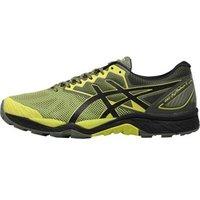 Asics Mens Gel FujiTrabuco 6 Trail Running Shoes Sulphur Spring/Black/Four Leaf