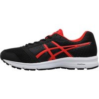 Asics Mens Patriot 9 Neutral Running Shoes Black/Fiery Red/White