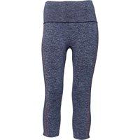 Asics Womens Cool Running Capri Leggings Dark Blue/Coralicious