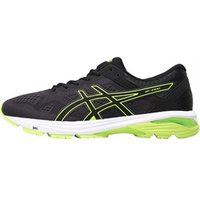 Asics Mens GT 1000 6 Stability Running Shoes Black/Safety Yellow/Black