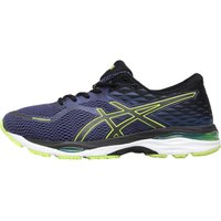 Asics Mens Gel Cumulus 19 Neutral Running Shoes Indigo Blue/Black/Safety Yellow