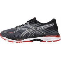 Asics Mens Cumulus 19 Neutral Running Shoes Black/Carbon/Fiery Red