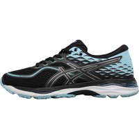 Asics Womens Gel Cumulus 19 Neutral Running Shoes Black/Porcelain Blue/white