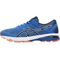 Asics Mens GT 1000 6 Stability Running Shoes Victoria Blue/Dark Blue/Shocking Orange