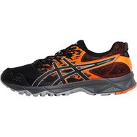 Asics Mens GEL-Sonoma 3 Trail Running Shoes Black/Orange