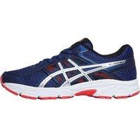 Asics Junior Boys Gel Contend 4 GS Neutral Running Shoes Deep Ocean/Silver