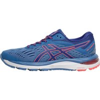 Asics Womens Cumulus 20 Neutral Running Shoes Azure/Blue Print
