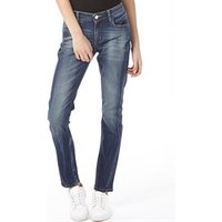 adidas Neo Womens Skinny Fit Jeans Mid Blue