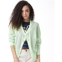 adidas-neo-womens-structured-knitted-cardigan-fluo-green