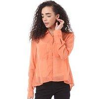 adidas-neo-womens-chiffon-blouse-coral