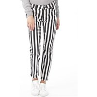 adidas Neo Womens Selena Gomez Striped Pants White/Black