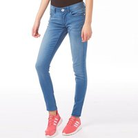adidas Neo Womens Super Skinny Jeans Light Blue Denim