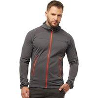 Berghaus Mens Pravitale Light Hooded Fleece Jacket Dark Grey/Black