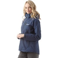 Berghaus Womens Island Peak 2 Layer Gore-Tex Shell Jacket Dark Blue/Dark Blue