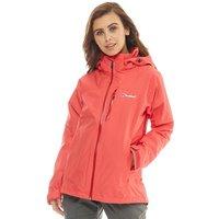 Berghaus Womens Island Peak 2 Layer Gore-Tex Shell Jacket Red/Red