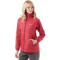 Berghaus Womens Deluge Hydroshell Light Shell Jacket Pink/Pink