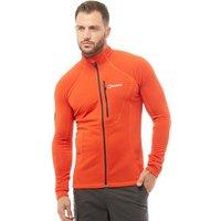 Berghaus Mens Braddan Fleece Jacket Orange