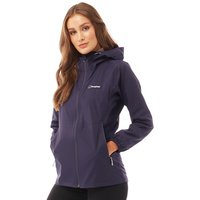 Berghaus Womens Stormcloud Hydroshell Jacket Evening Blue