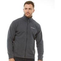 Berghaus Mens Arnside Full Zip Fleece Jacket Carbon