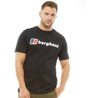 Berghaus Mens Blocks 1 Large Logo T-Shirt Black
