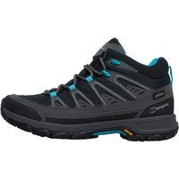 Berghaus Womens Explorer Active GTX GORE-TEX Hiking Boots Black/Light Turquoise