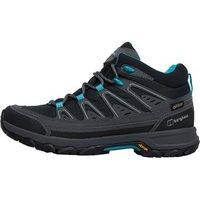 Berghaus Womens Explorer Active GTX GORE-TEX Hiking Boots Black/Light Turquoise
