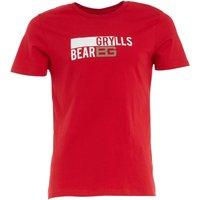 Bear Grylls Mens Graphic T-Shirt Chilli