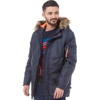 bellfield-mens-mundow-fur-trim-parka-navy