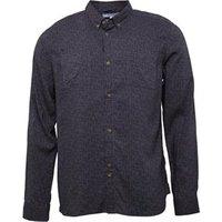 bellfield-mens-cross-hatch-printed-shirt-grey