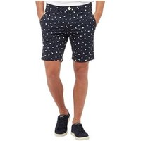 bellfield-mens-ditzy-print-shorts-navy