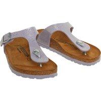 Birkenstock Junior Girls Gizeh Birko-Flor Sandals Magic Galaxy Lavender