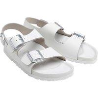 Birkenstock Narrow Fit Milano Sandals White
