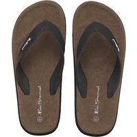 Ben Sherman Mens Dune Sandals Black
