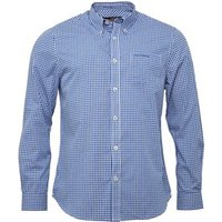 ben-sherman-mens-long-sleeve-standard-gingham-shirt-directoire-blue