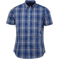 ben-sherman-mens-short-sleeve-check-shirt-classic-navy