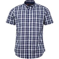 ben-sherman-mens-short-sleeve-check-shirt-blue-twilight