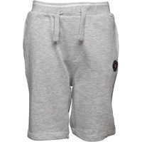 Ben Sherman Boys Loop Back Shorts Light Grey Marl